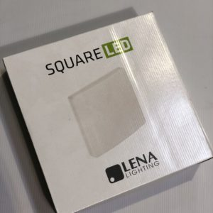 LENA Lighting Square LED valaisin