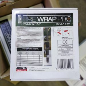 Joints Fire Wrap Pro+ EI240 palonestokääre 25m/rll