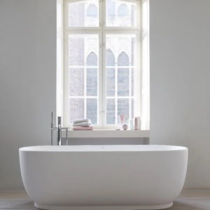 Kylpyamme Duravit Luv 700432 + ammehana Il Bagno Alessi One by Oras